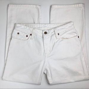 Ralph Lauren Polo Jeans, White, Straight Leg